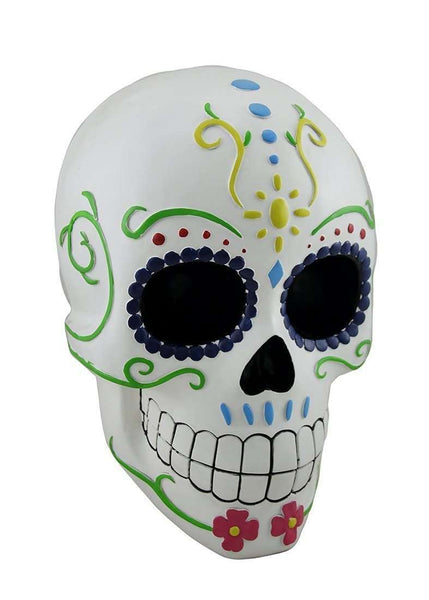 Skeleton Sugar Skull Prop Decor Halloween Statue - LM Treasures Life Size Statues & Prop Rental