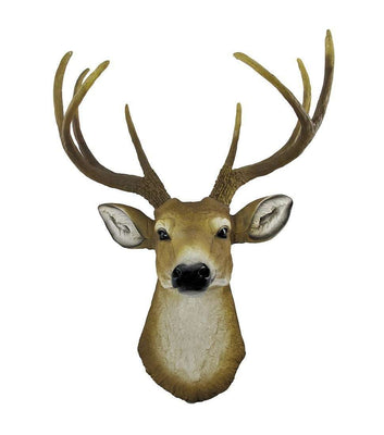 Deer Buck Wall Decor Animal Prop Life Size Resin Statue - LM Treasures Life Size Statues & Prop Rental
