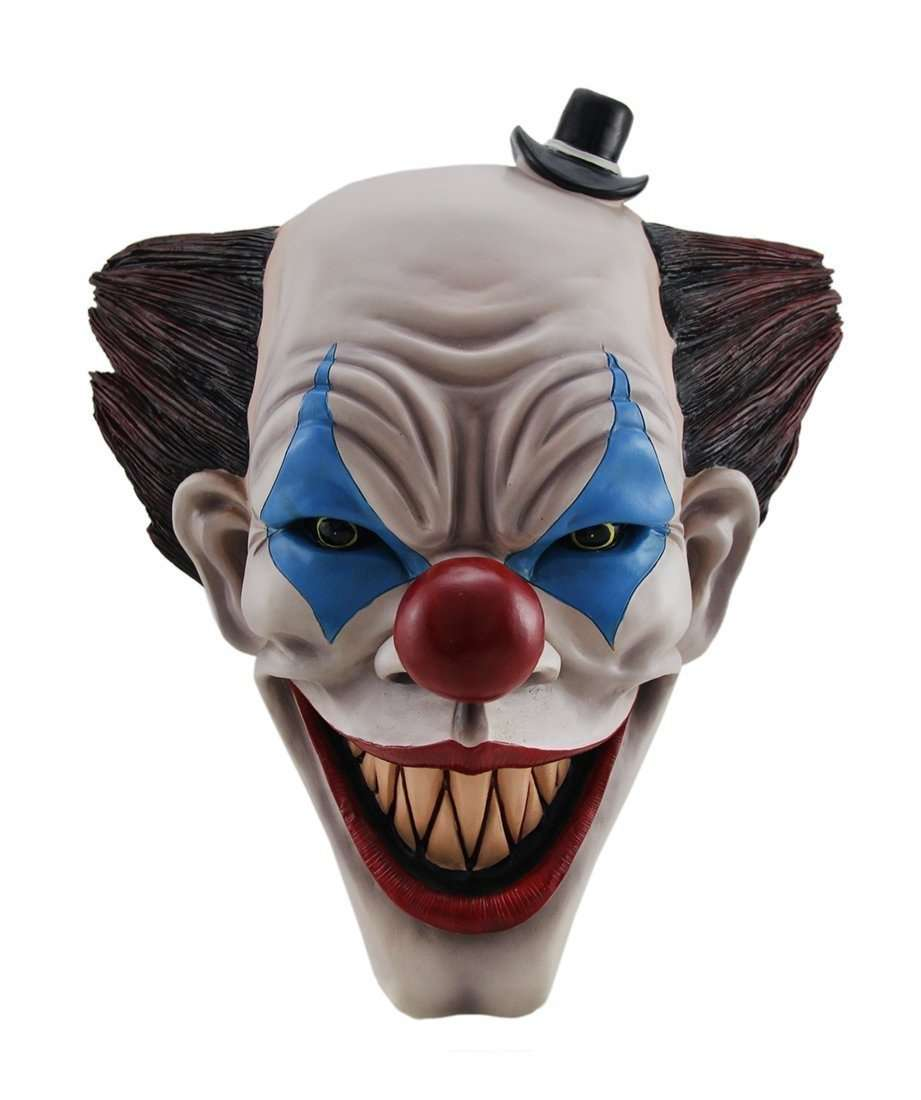 Clown Face Halloween Prop Wall Decor Life Size Resin Statue - LM Treasures Life Size Statues & Prop Rental