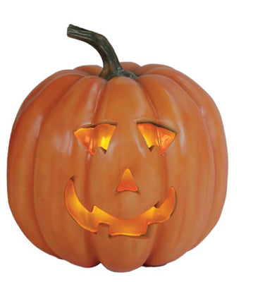 Pumpkin 4 Light - LM Treasures Life Size Statues & Prop Rental