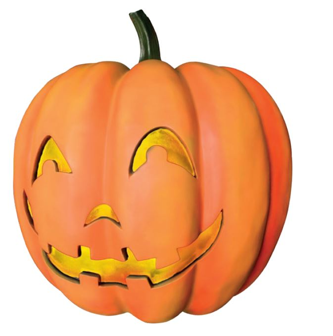 Pumpkin 6 Light - LM Treasures Life Size Statues & Prop Rental