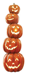 Pumpkin tower 5 light - LM Treasures Life Size Statues & Prop Rental