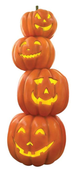 Pumpkin tower 4 light - LM Treasures Life Size Statues & Prop Rental