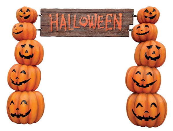 Archway Pumpkin - LM Treasures Life Size Statues & Prop Rental