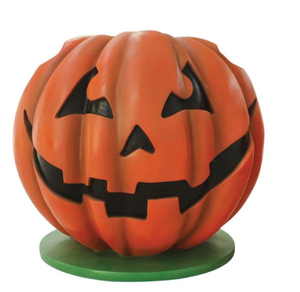 Photo Op Pumpkin - LM Treasures Life Size Statues & Prop Rental