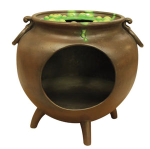 Photo Op Witch Cauldron - LM Treasures Life Size Statues & Prop Rental