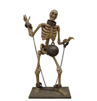Skeleton Chain - LM Treasures Life Size Statues & Prop Rental