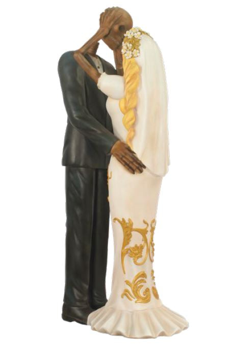 Skeletons Married - LM Treasures Life Size Statues & Prop Rental