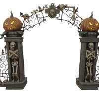 Gate Horror - LM Treasures Life Size Statues & Prop Rental