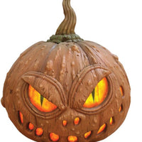 Pumpkin Monster light - LM Treasures Life Size Statues & Prop Rental