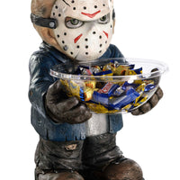 Candy Bowl Holder Halloween Jason Half Foam Licensed Statue - LM Treasures Life Size Statues & Prop Rental