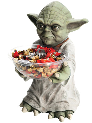 Candy Bowl Holder Star Wars Yoda Half Foam Licensed Statue - LM Treasures Life Size Statues & Prop Rental
