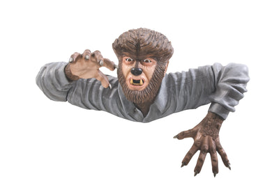 Grave Walker Halloween Wolfman Creature Foam Licensed Statue - LM Treasures Life Size Statues & Prop Rental
