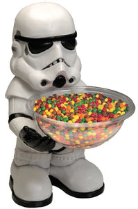 Candy Bowl Holder Star Wars Stormtrooper Half Foam Licensed Statue - LM Treasures Life Size Statues & Prop Rental