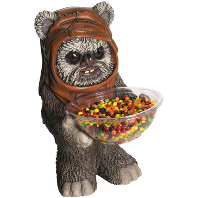 Candy Bowl Holder Star Wars Ewok Half Foam Licensed Statue - LM Treasures Life Size Statues & Prop Rental