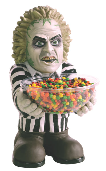 Candy Bowl Holder Halloween Beetlejuice Half Foam Licensed Statue - LM Treasures