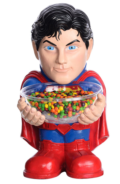 Candy Bowl Holder DC Superman Half Foam Licensed Statue - LM Treasures