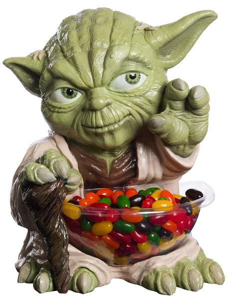 Candy Bowl Holder Star Wars Yoda Mini Half Foam Licensed Statue - LM Treasures