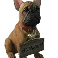 French Bulldog Statue - LM Treasures Life Size Statues & Prop Rental