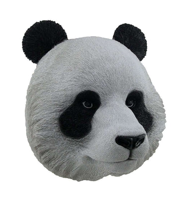Panda Bear Head Animal Prop Life Size Decor Resin Statue - LM Treasures Life Size Statues & Prop Rental