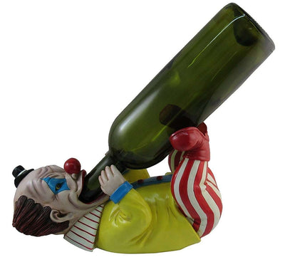 Clown Wine Bottle Holder Circus Prop Decor Resin Statue - LM Treasures Life Size Statues & Prop Rental
