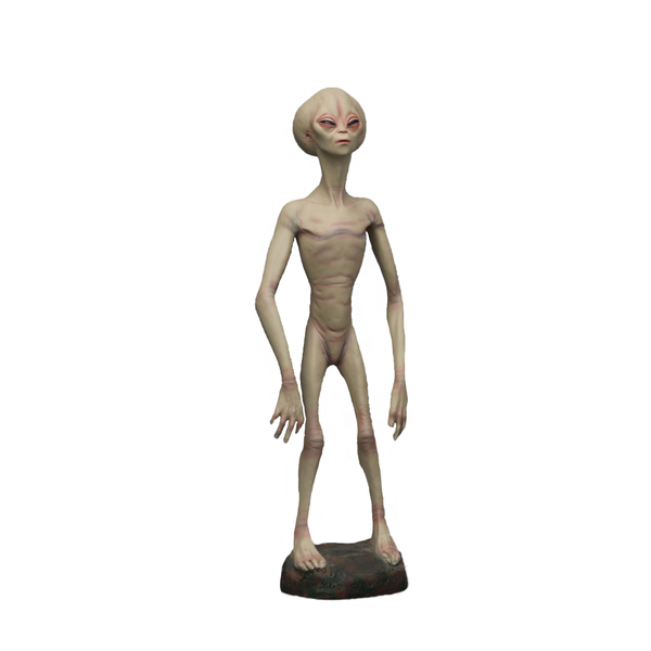 Alien Encounter Life Size Statue - LM Treasures