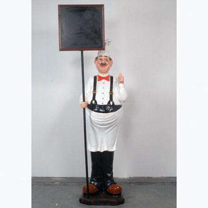 Chef Thumbs Up Small Statue - LM Treasures Life Size Statues & Prop Rental