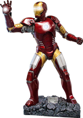 Iron Man Statue w/ Working Lights- LM Treasures