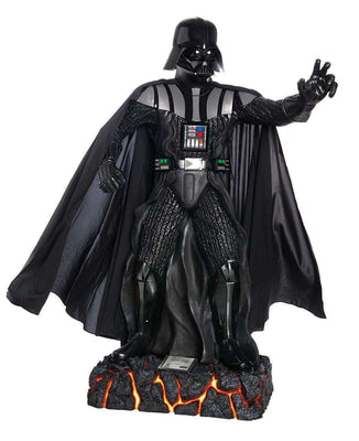 Star Wars Darth Vader Anakin Skywalker Life Size  Statue Light Up- LM Treasures