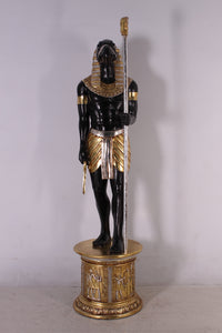 Egyptian Horus On Base Life Size Statue - LM Treasures Life Size Statues & Prop Rental
