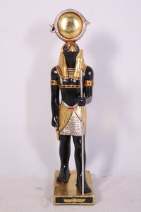 Egyptian Horus Small Prop Decor Resin Statue - LM Treasures Life Size Statues & Prop Rental