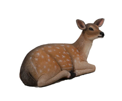 Deer Fallow Lying Animal Prop Life Size Decor Resin Statue - LM Treasures Life Size Statues & Prop Rental