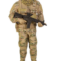 Soldier Tatical Life Size Military Prop Resin Decor Statue - LM Treasures Life Size Statues & Prop Rental