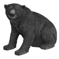 North American Black Bear Sitting Life Size Statue - LM Treasures Life Size Statues & Prop Rental