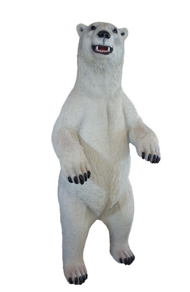 Polar Bear Life Size Statue - LM Treasures Life Size Statues & Prop Rental