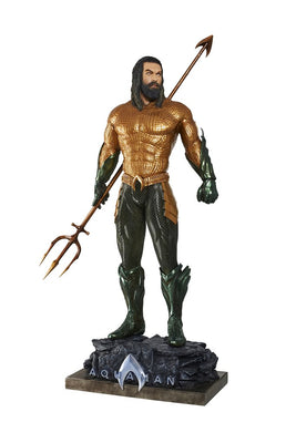 Aquaman Life Size Statue 2018 Movie Prop (New Armor) - LM Treasures Life Size Statues & Prop Rental