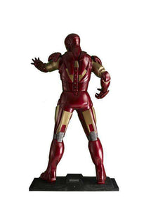 Iron Man Life Size Statue From The Avengers - LM Treasures Life Size Statues & Prop Rental
