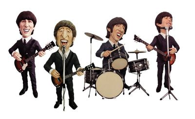 Celebrity Beatle Set Display Prop Decor Resin Statue - LM Treasures Life Size Statues & Prop Rental