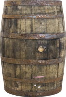 Wooden Whiskey Barrel Life Size Statue - LM Treasures Life Size Statues & Prop Rental
