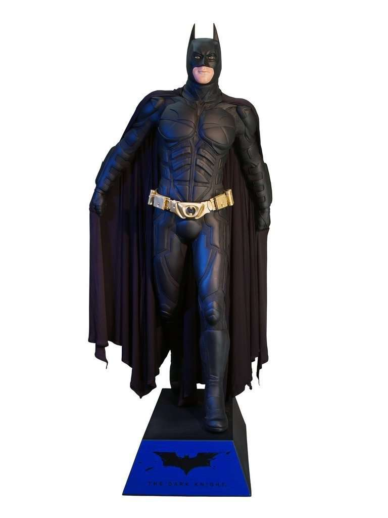 Batman Life Size Statue From The Dark Knight - LM Treasures