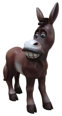 Comic Donkey Display Prop Decor Resin Statue - LM Treasures Life Size Statues & Prop Rental