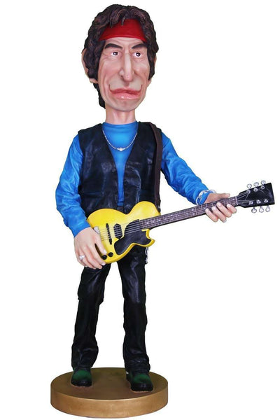 K. Richards Stones Caricature Life Size Statue - LM Treasures Life Size Statues & Prop Rental