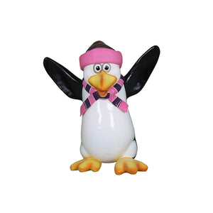 Penguin Kipper - LM Treasures Life Size Statues & Prop Rental