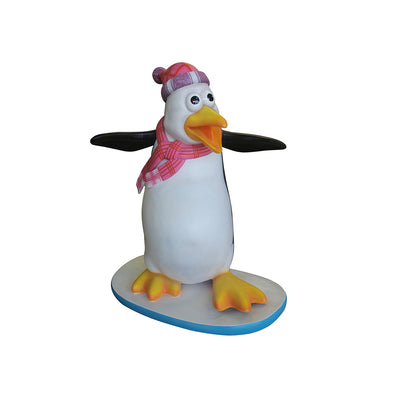 Penguin Flipper - LM Treasures Life Size Statues & Prop Rental