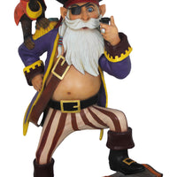 Pirate Captain Anton Life Size Pirate Prop Decor Resin Statue - LM Treasures Life Size Statues & Prop Rental