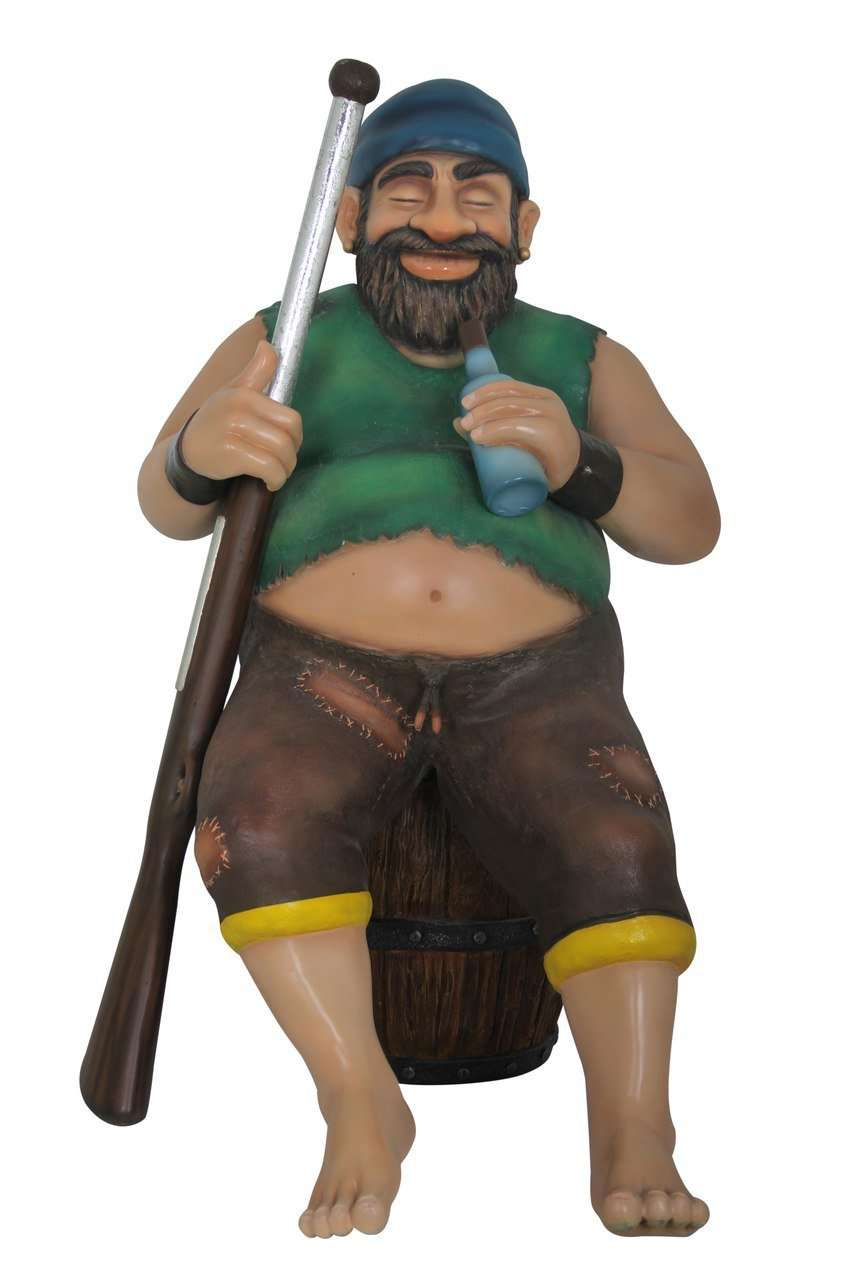 Pirate Captain Laurente Life Size Statue Resin Decor - LM Treasures Life Size Statues & Prop Rental