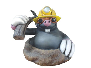 Mole Comic Miner Display Resin Prop Decor Statue - LM Treasures Life Size Statues & Prop Rental