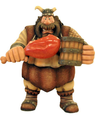 Pirate Captain Mangnus Viking Life Size Statue Resin Decor - LM Treasures Life Size Statues & Prop Rental