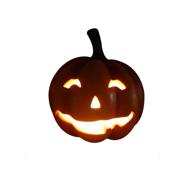 Pumpkin Smiling (Light Up) - LM Treasures Life Size Statues & Prop Rental
