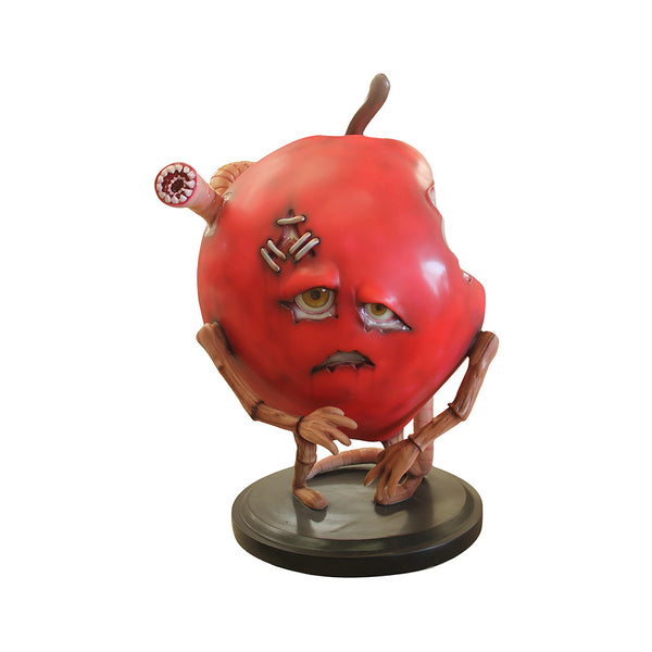 Spooky Fruit Zombapple - LM Treasures Life Size Statues & Prop Rental